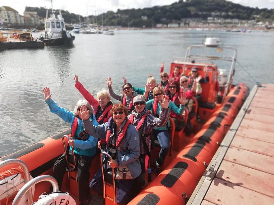 Rib boat wildlife tour